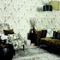 Aegean_Eleni Wallpaper with hanging shades_med